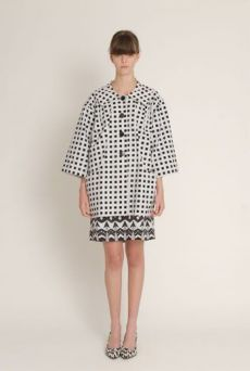 SS13 SQUARED PAINTERS COAT - Other Image